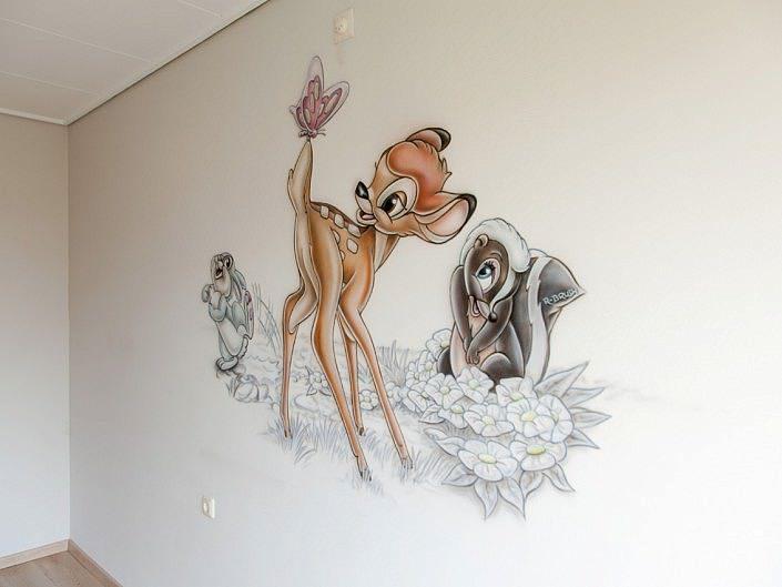 Bambi met vriendjes