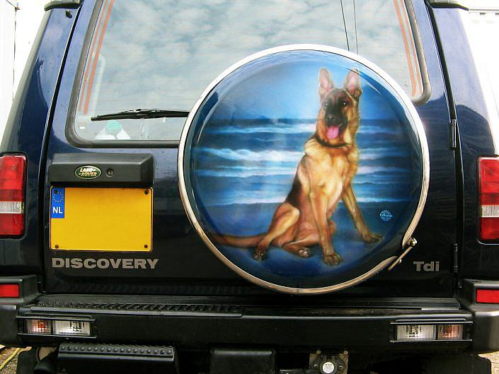 Wheelcover Hond