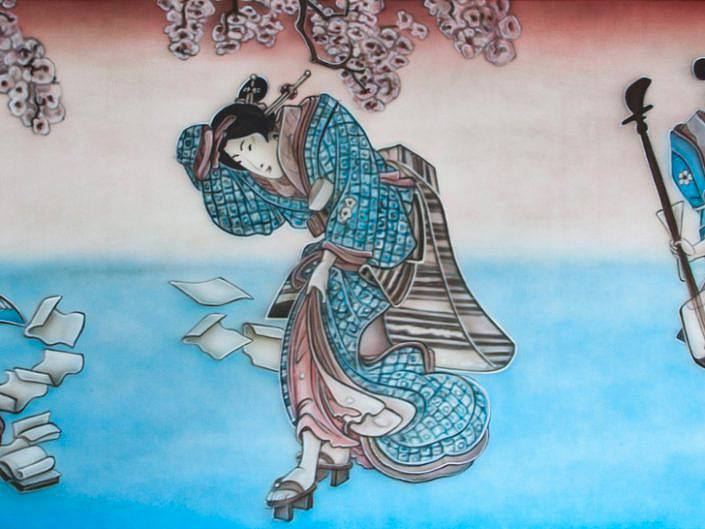 Japanse schilderijen