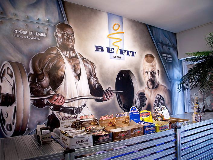 BE FIT STORE